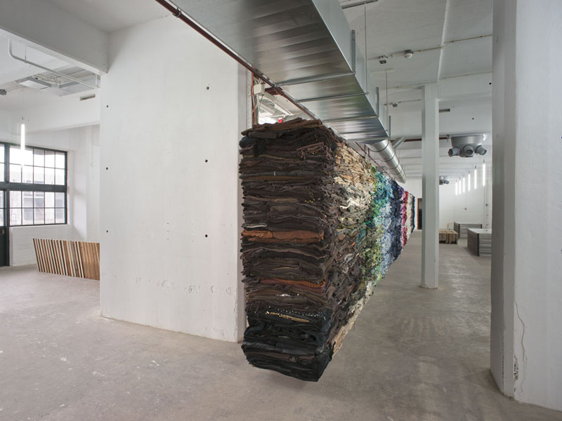 interior designers who use recycled materials projects