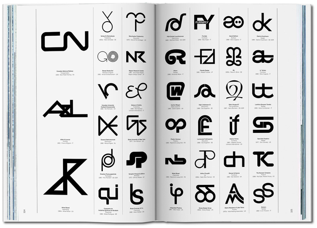 taschen publishes catalogue of modern logo marks